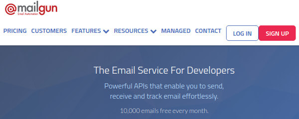 Mailgun Transactional Email