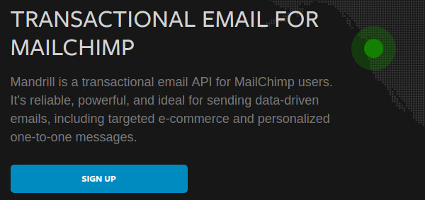 Mandrill Transactional Email for Mail Chimp