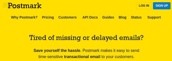 Postmark Transactional Email